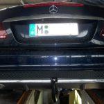 anhängerkupplung mercedes e-klasse cabrio amg a207