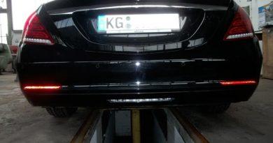 anhängerkupplung mercedes s-klasse w222