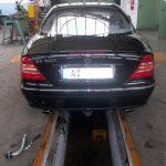 anhängerkupplung mercedes s-klasse coupe cl c215