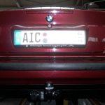 Anhängerkupplung BMW 3er E36 Cabrio