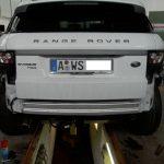 anhängerkupplung range rover evoque