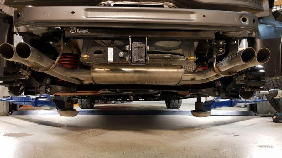 Einbau Fiat 500 Abarth